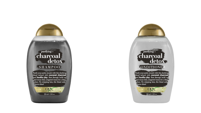 OGX Charcoal & Kaolin Clay Shampoo and Conditioner