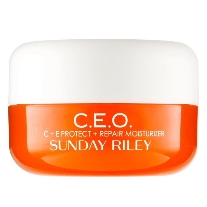 moisturisers for sensitive skin Sunday Riley C.e.o. Vitamin C Rich Hydration Cream