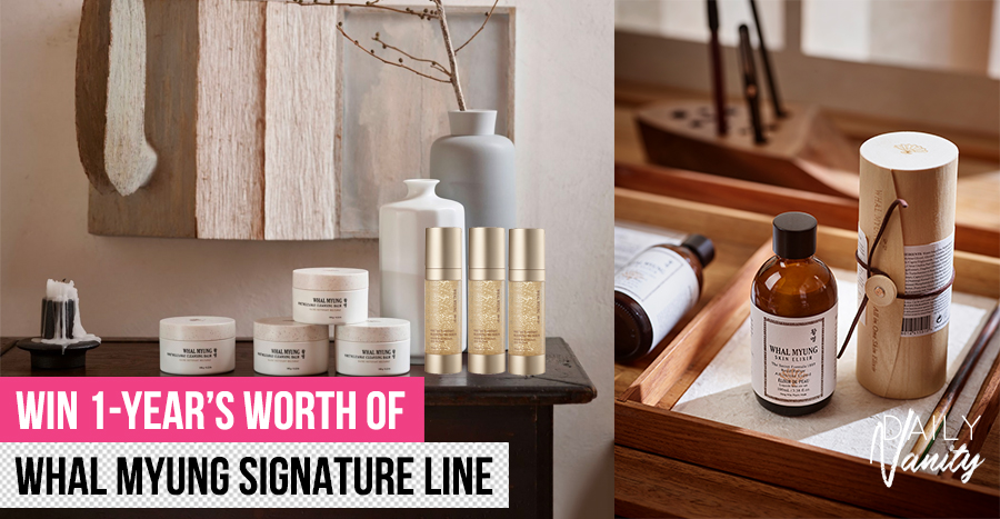 WIN 1-Year's worth of Whal Myung Signature Line