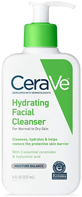 Best Face Washes For Treating And Getting Rid Of Acne Scars Cerave Hydrating Facial Cleanser