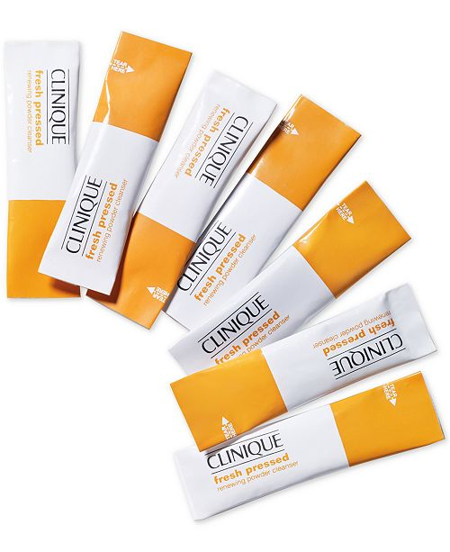 Best Face Washes For Treating And Getting Rid Of Acne Scars Clinique Fresh Pressed Renewing Powder Cleanser With Pure Vitamin C