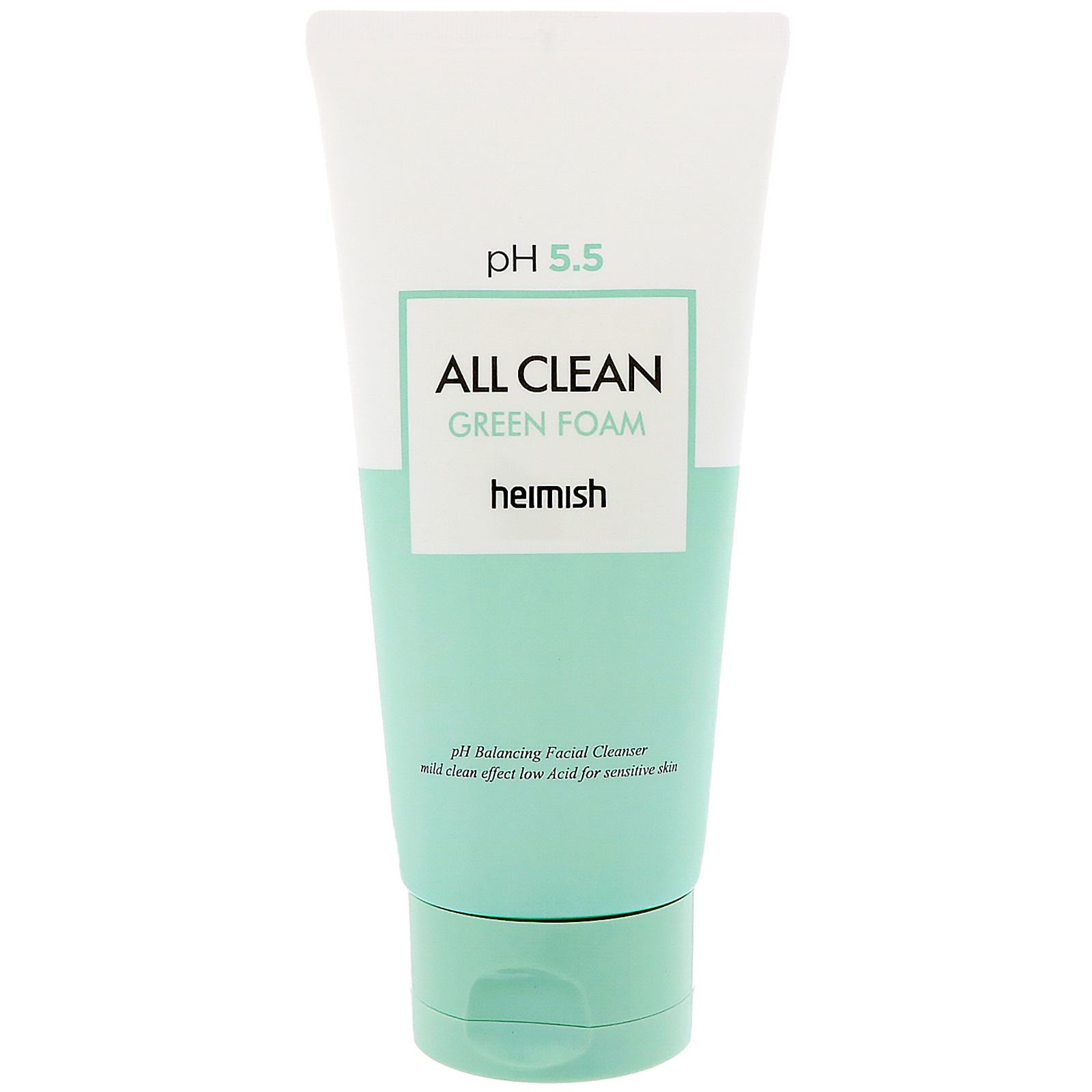 Best Face Washes For Treating And Getting Rid Of Acne Scars Heimish All Clean Green Foam Cleanser