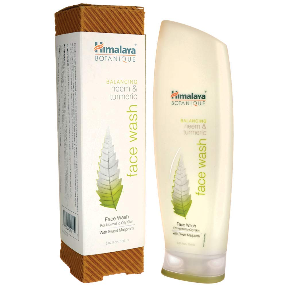 Best Face Washes For Treating And Getting Rid Of Acne Scars Himalaya 100 Balancing Neem Turmeric Face Wash