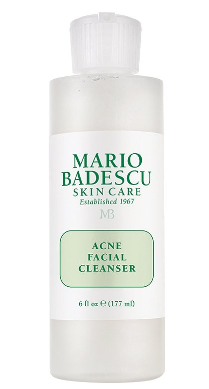 Best Face Washes For Treating And Getting Rid Of Acne Scars Mario Badescu Acne Facial Cleanser