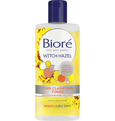 Best Facial Wash For Acne Scars Biore Witch Hazel Pore Clarifying Cooling Cleanser