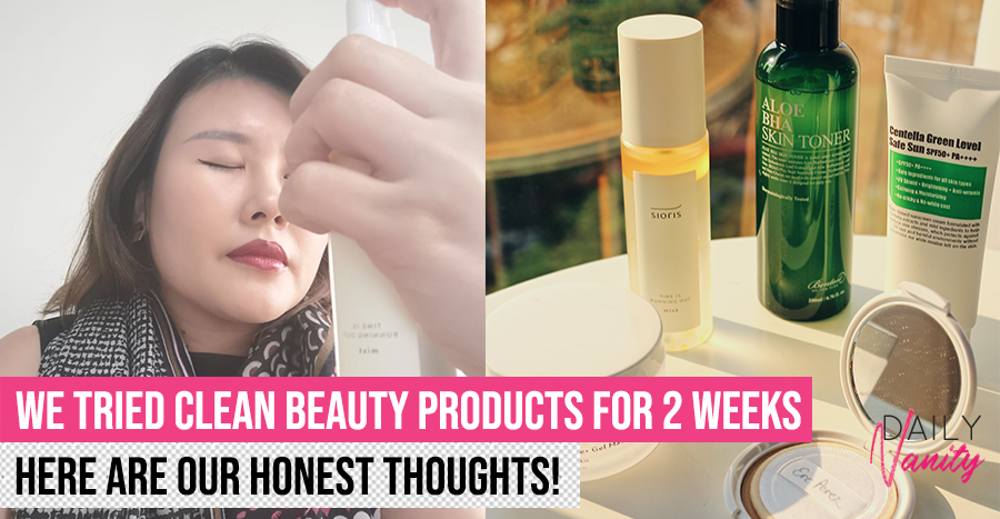 Is clean beauty overrated or the real deal? We tested 5 clean beauty products and tell you
