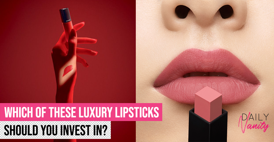 We tried >S$250 worth of new lipsticks from luxury fashion houses to tell you which is for you