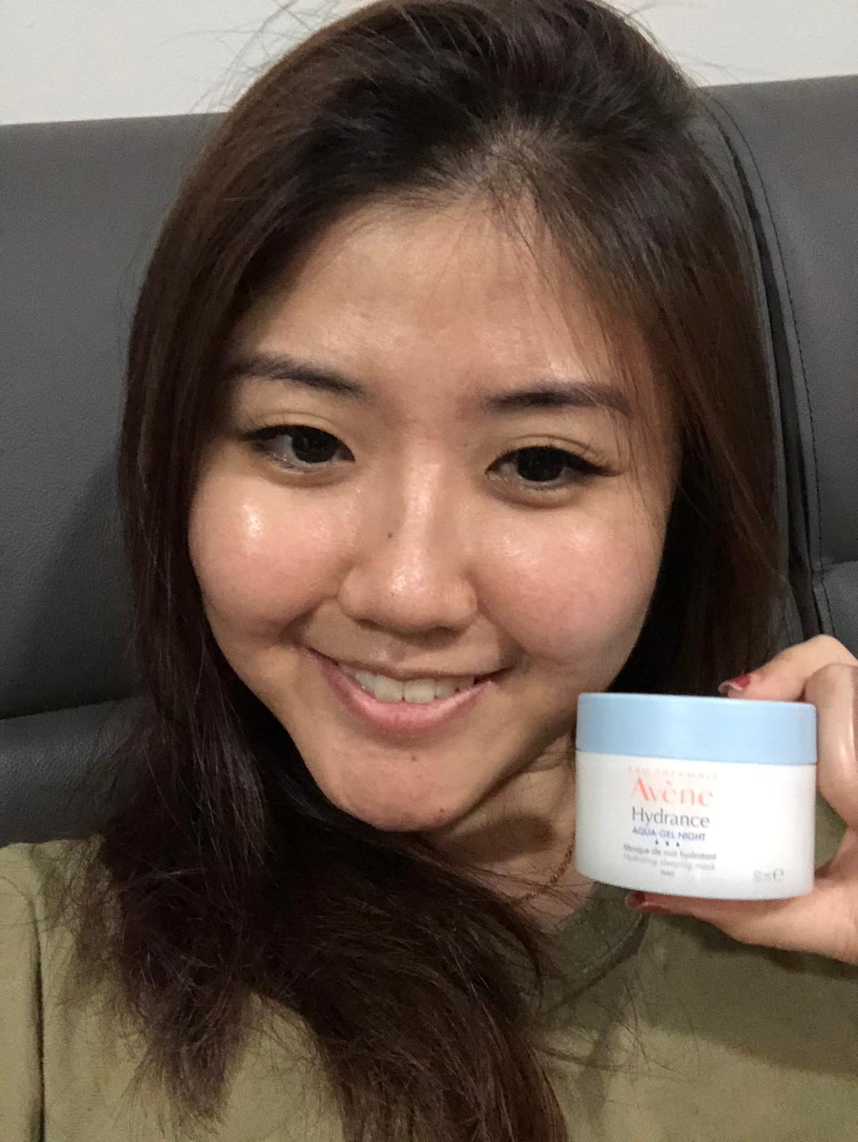 Avène Hydrance Aqua Gel Night Hydrating Sleeping Mask Jacqueline Goh