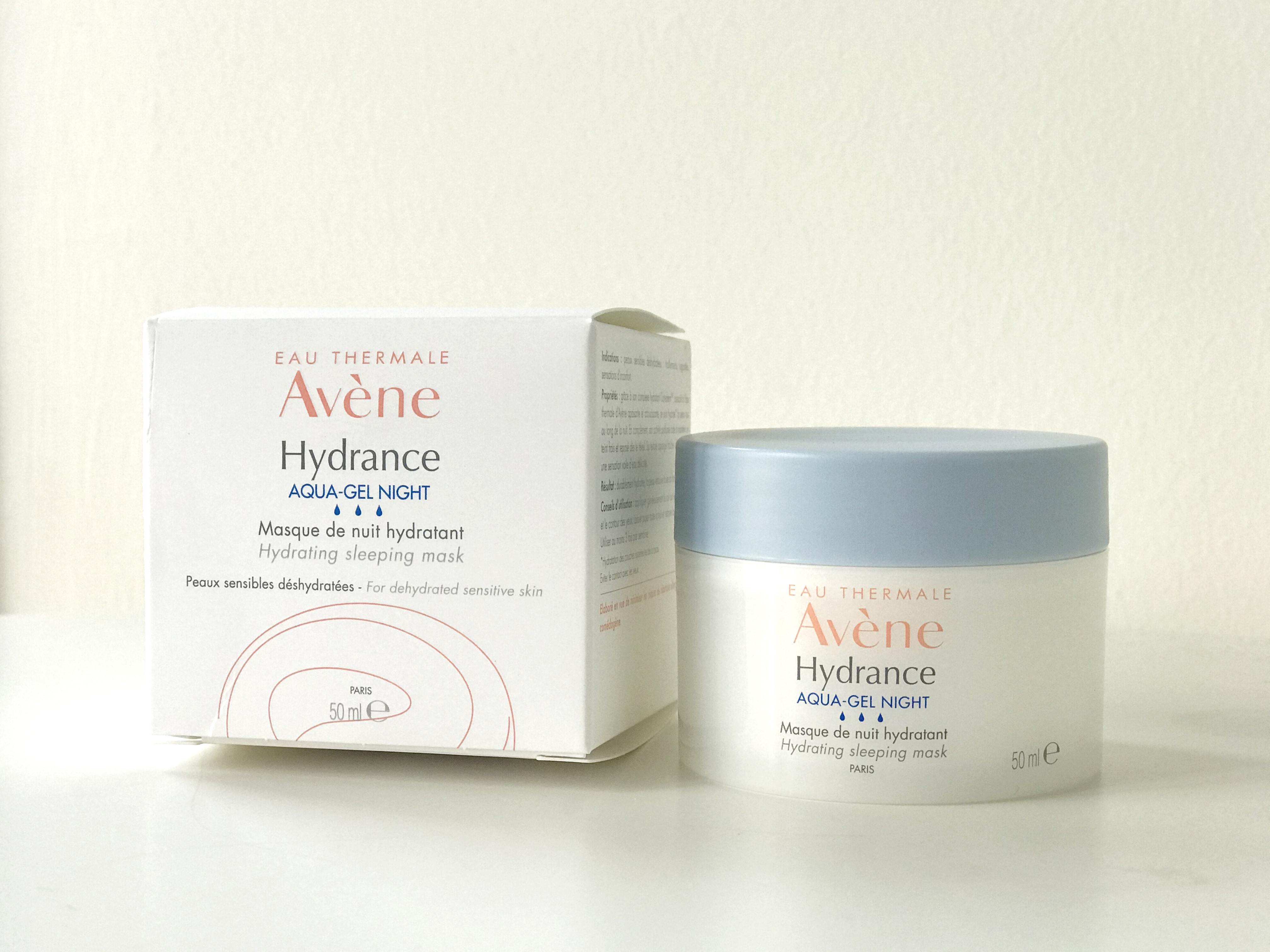 Avène Hydrance Aqua Gel Night Hydrating Sleeping Mask Review 2