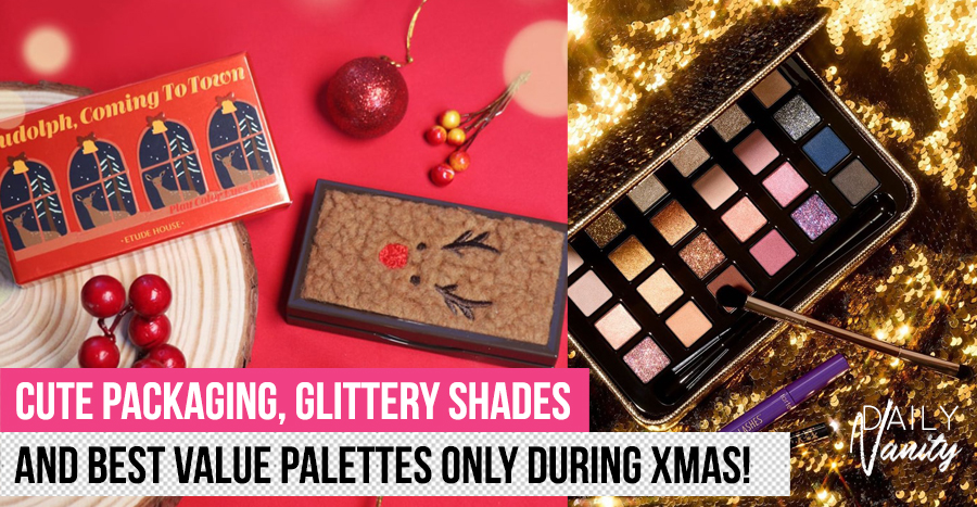 17 dazzling eyeshadow palettes to buy this Christmas, be it for your loved ones or yourself!