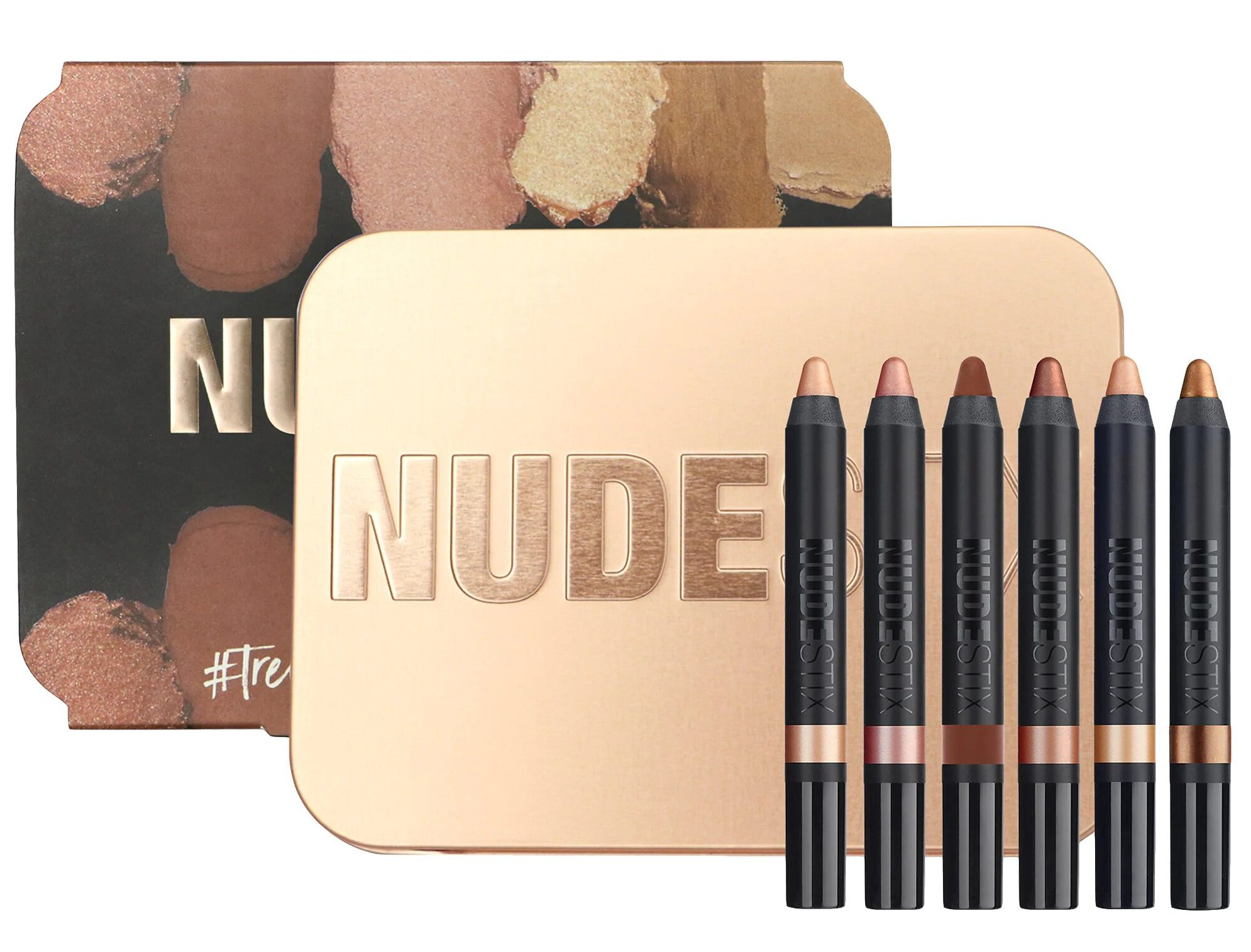 Christmas Eyeshadow Palettes Nudestix Nude Rose Gold Eye Palette Limited Edition