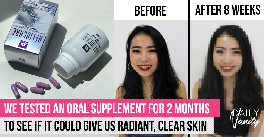 Can you get rid of hyperpigmentation and get brighter skin by consuming pills? We tried it out and here's what we found.