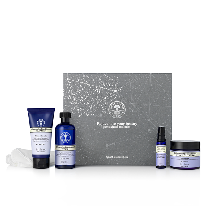 Neals Yard Remedies Rejuvenate Your Beauty Frankincense Collection