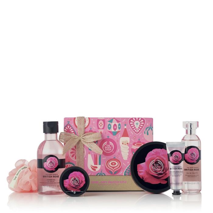 The Body Shop Petal Soft British Rose Premium Collection