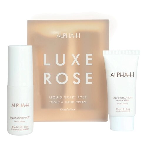 Best Budget Xmas Presents Alpha H Luxe Rose Kit