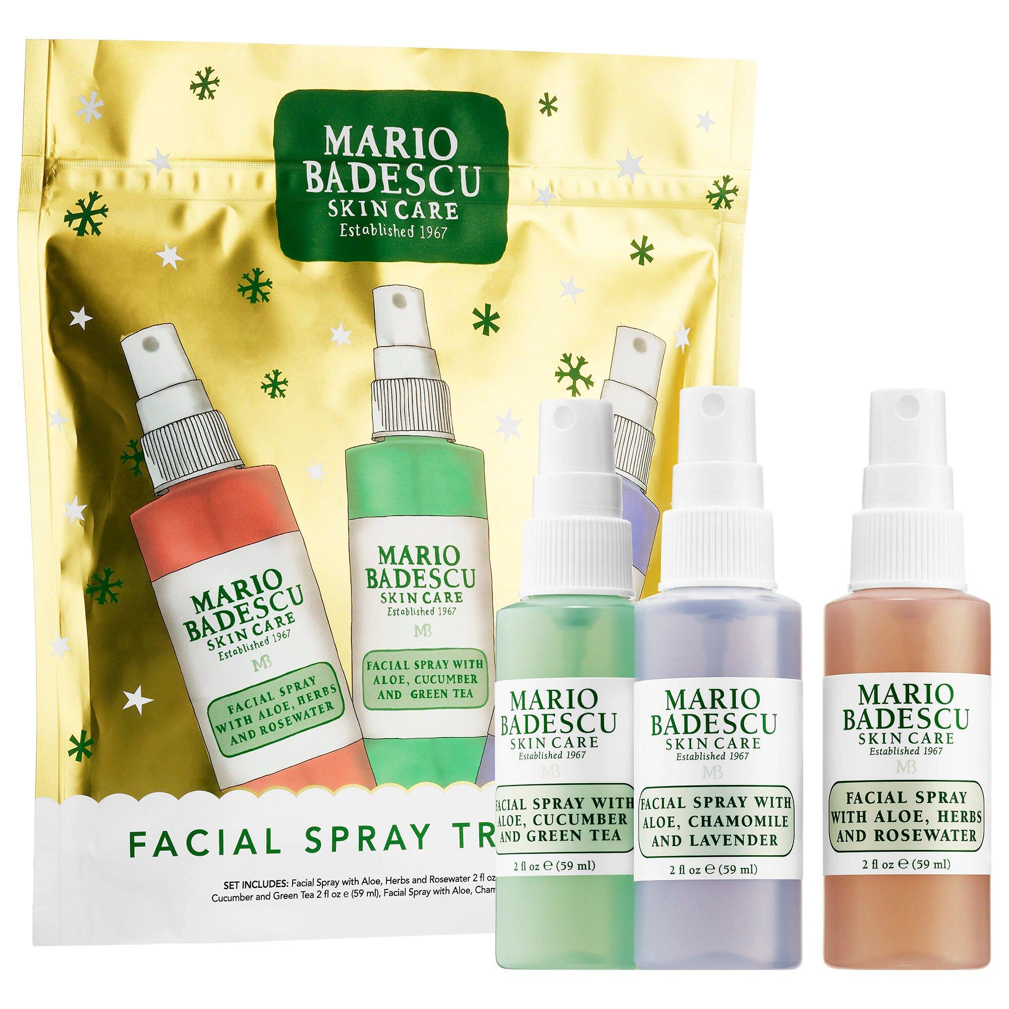 Best Budget Xmas Presents Mario Badescu Facial Spray Travel Trio