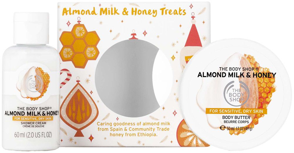 Best Xmas Gifts For Each Star Sign The Body Shop Soothing Almond Milk Honey Treats
