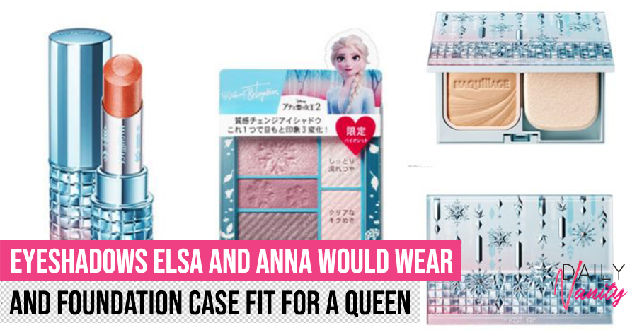 These skincare and makeup collabs with Frozen 2 look like what Elsa and Anna would own