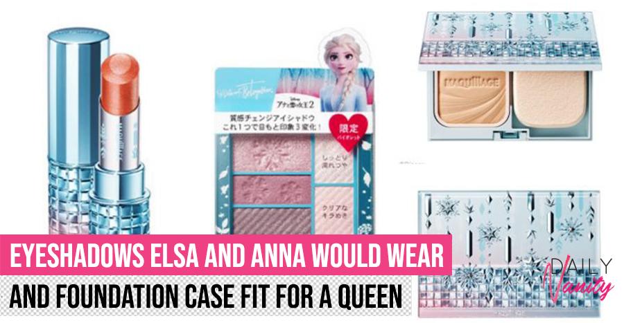 Frozen Shiseido Collaboration