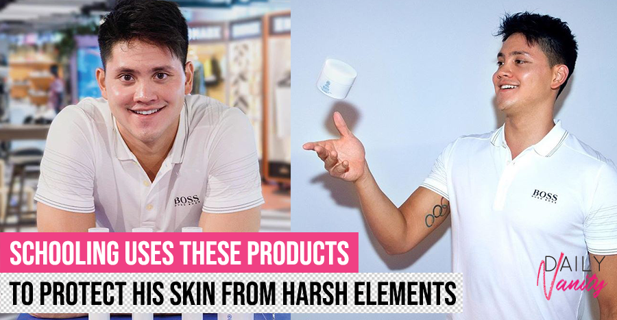 Olympic champion Joseph Schooling now has a skincare line
