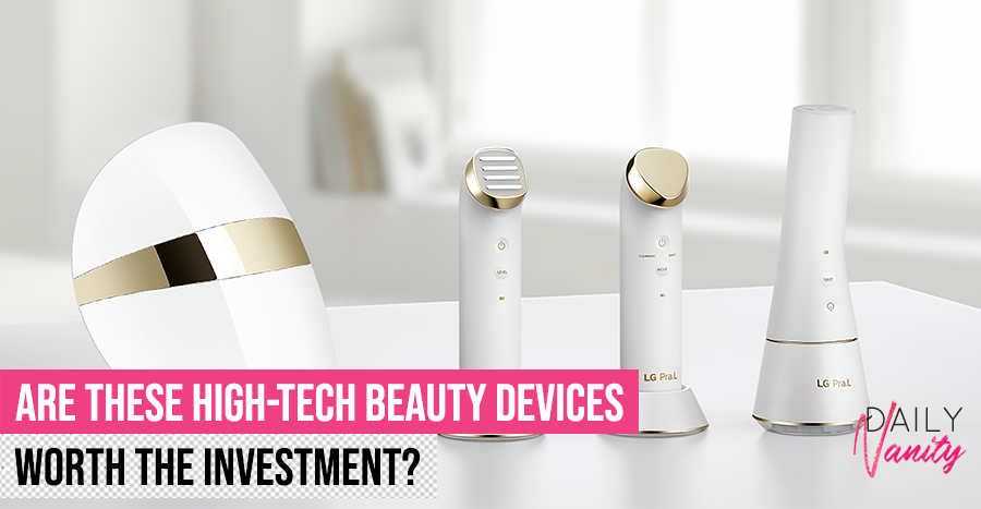 How life-changing are the new LG Pra L. beauty devices? We tried more than S$3,000 worth of these products to tell you how they fare