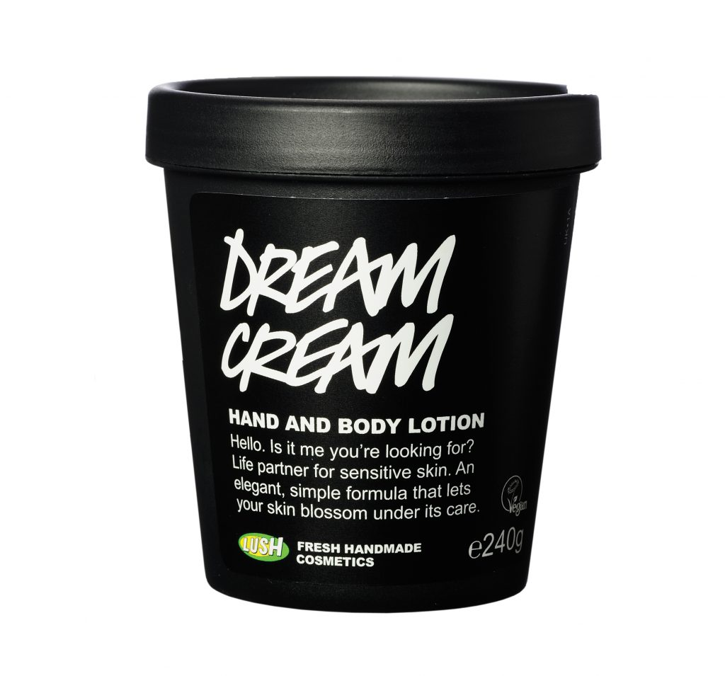 Lush Products Dream Cream