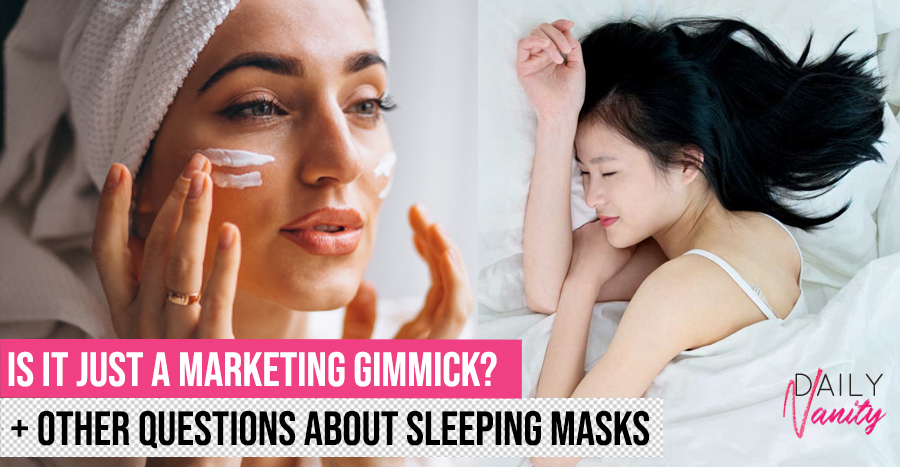 Sleeping Mask Vs Night Cream Featured