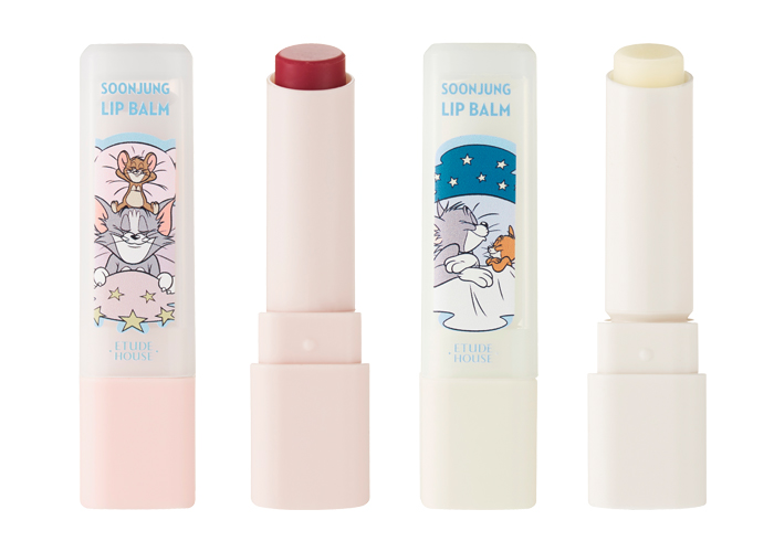 Etude House Tom Jerry Soon Jung Lip Balm