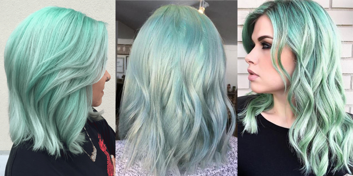 Korean Hair Trend 2020 Mint Colour