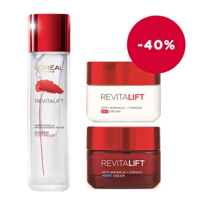 Shopee 12.12 Loréal Paris Revitalift Centella Anti Aging Micro Essence Day Night Cream