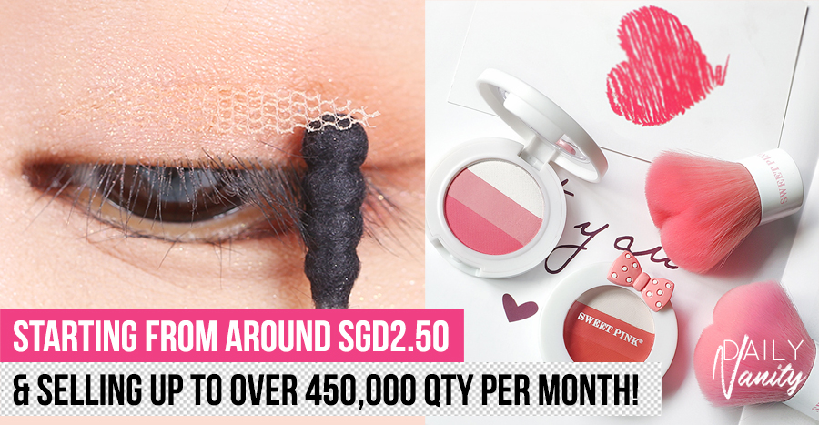 12 viral beauty products and tools on Taobao going at under S$12 this 12.12