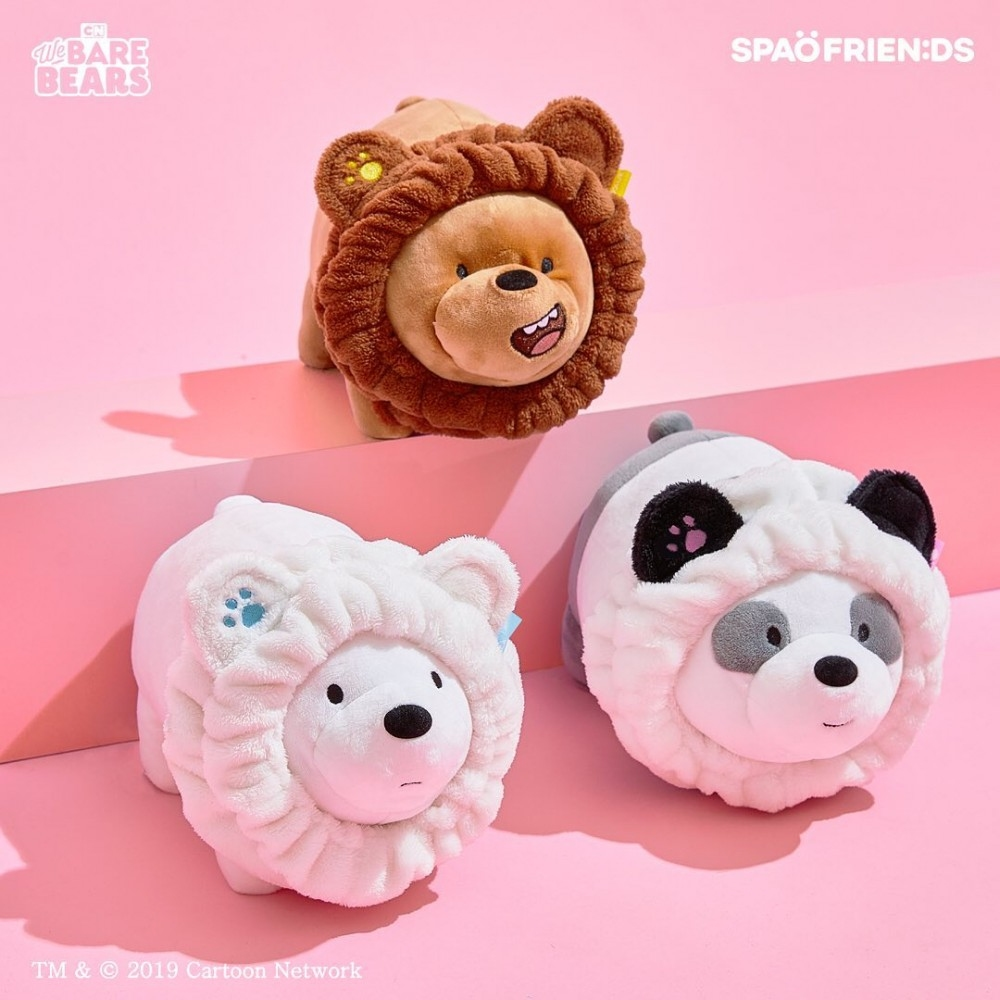 We Bare Bears X Spao Headbands