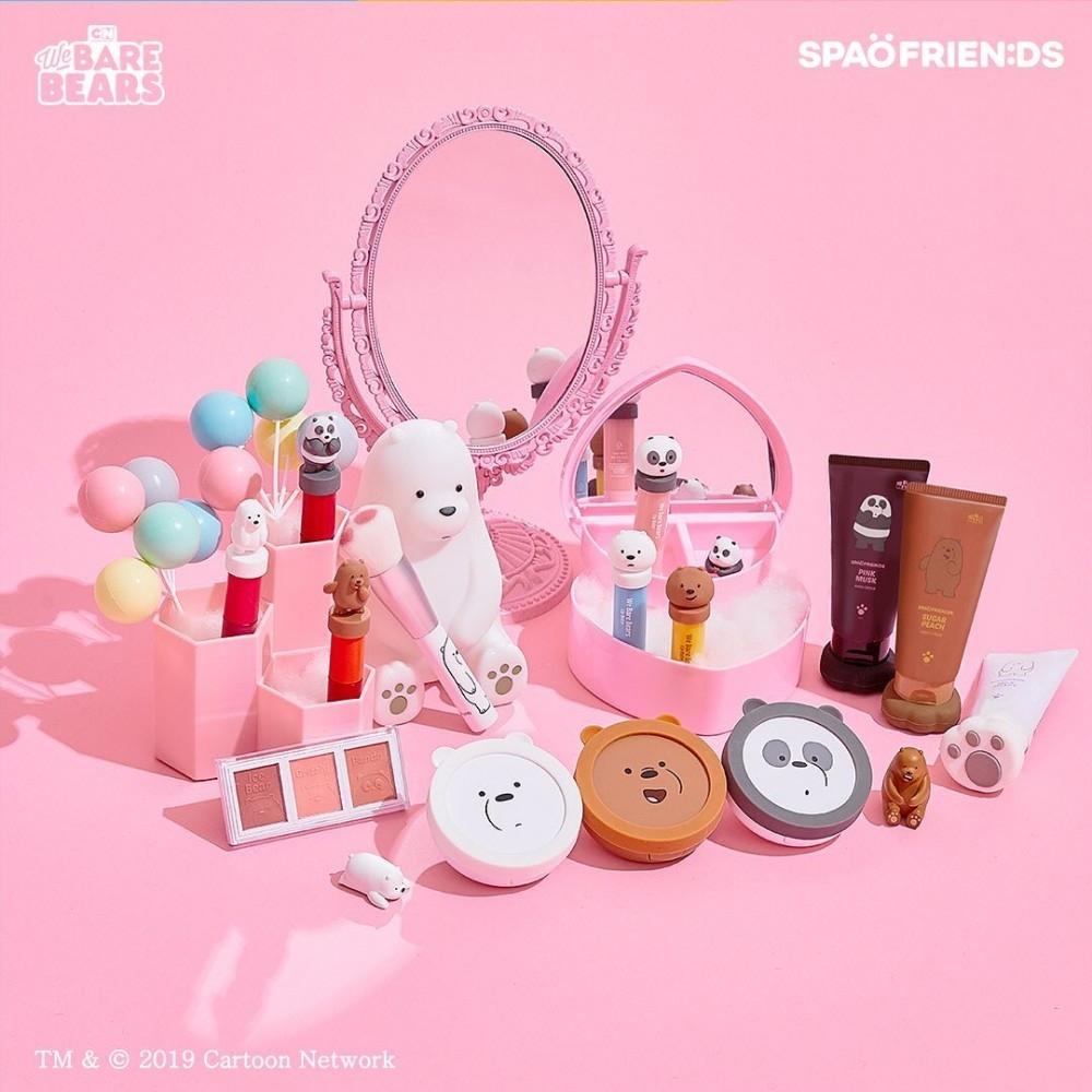 We Bare Bears X Spao Makeup Range