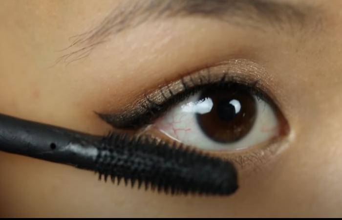 beginners makeup guide mascara lower lash line