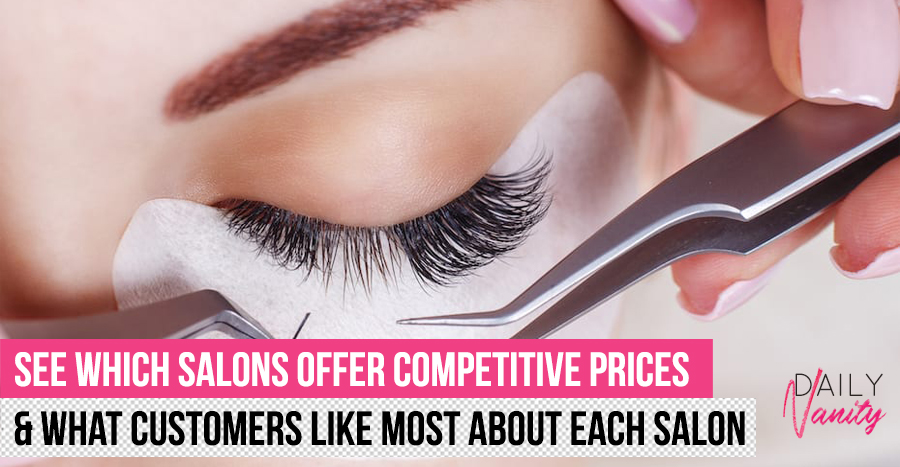 Best lash extension salon in Singapore? We compare the prices & reviews of 15 well-known lash salons