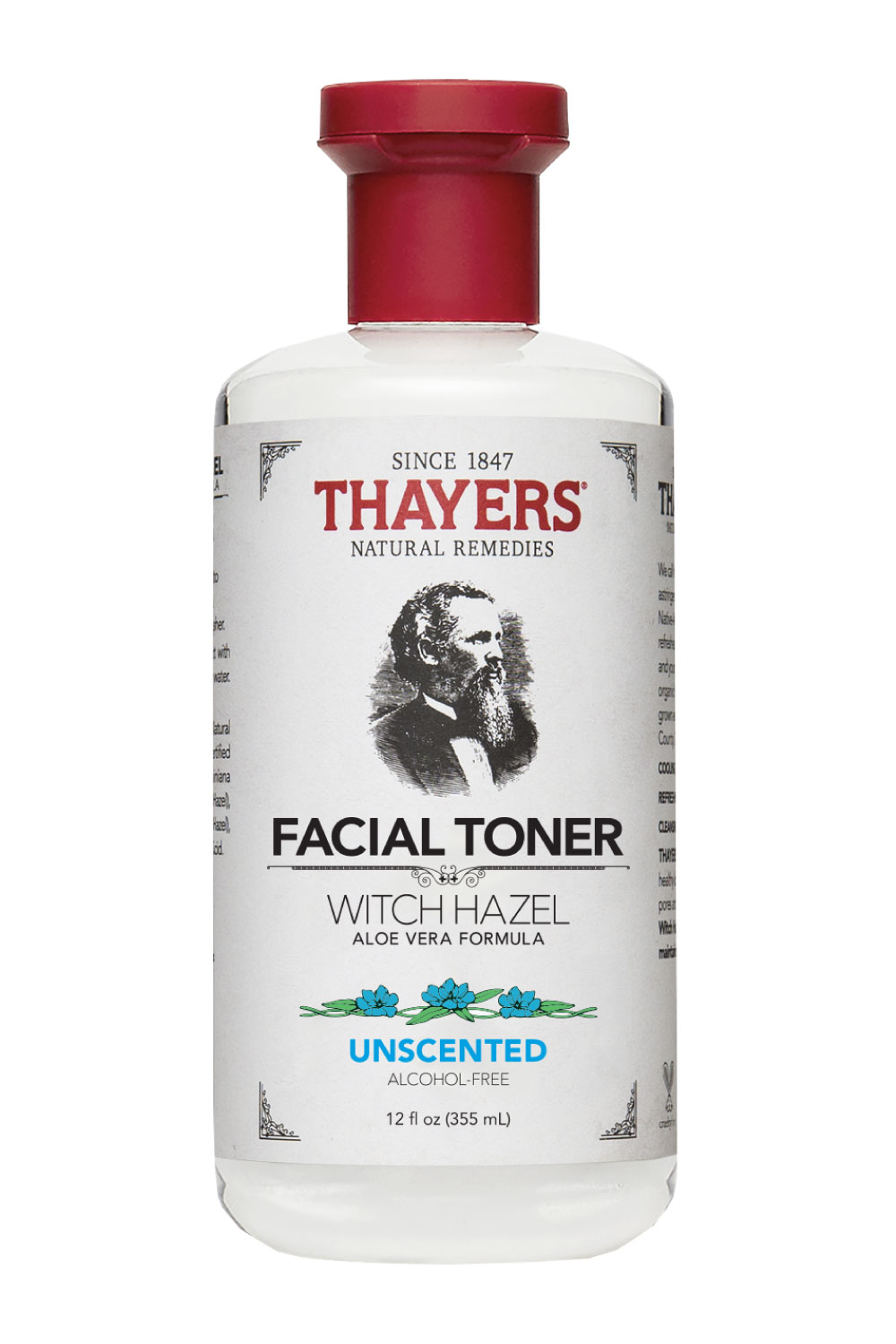 Best Toners For Sensitive Skin Thayers Alcohol Free Unscented Witch Hazel Facial Toner With Aloe Vera Formula