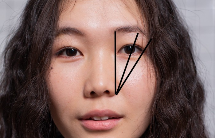 how to trim brows - mapping
