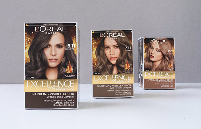 Loreal Ash Colour Collection Review