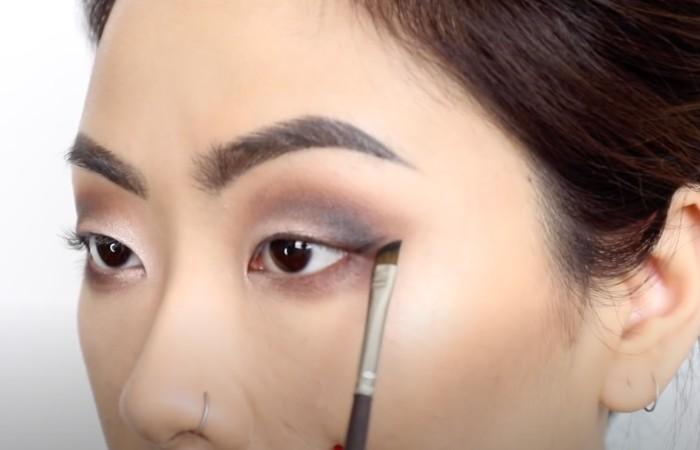 smokey eyes monolids beginners eyeliner
