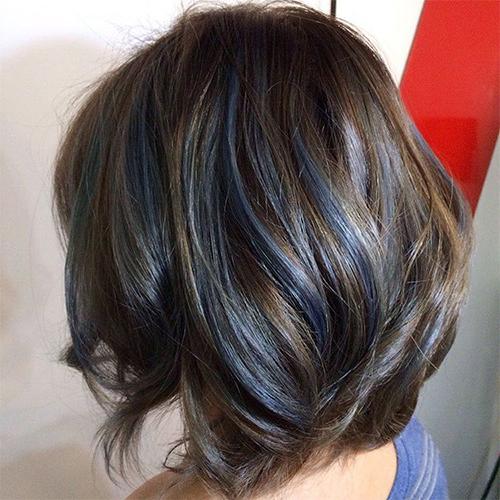 Blue Brown Hair 1