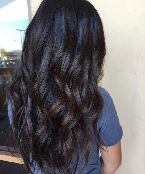 Blue Brown Hair 2