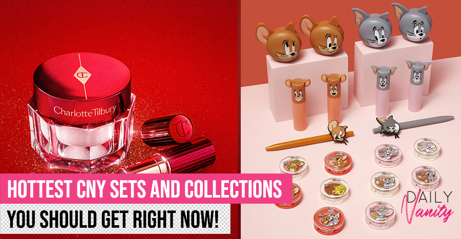 Cutest and prettiest CNY edition beauty products you'd want to collect for good luck