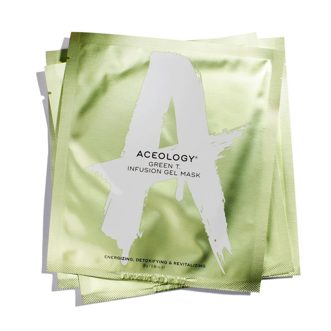 Masks With Long Waiting Lists Aceology Green T. Infusion Gel Mask