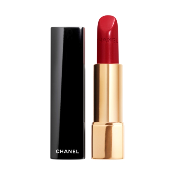 Red Lipstick Chanel Rouge Allure Luminous Intense Lip Colour In 99 Pirate