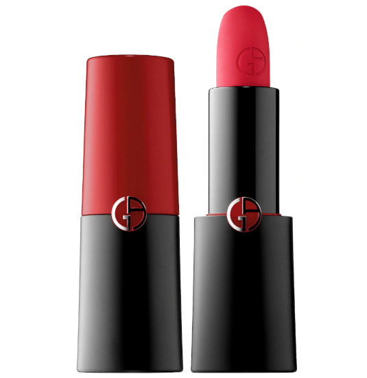 Red Lipstick Giorgio Armani Beauty Rouge Darmani Matte Lipstick In 400