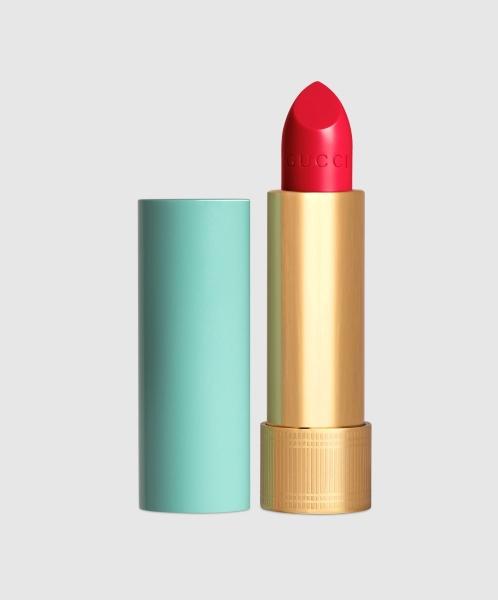 Red Lipstick Gucci Baume à Lèvres Lip Balm In René Pink