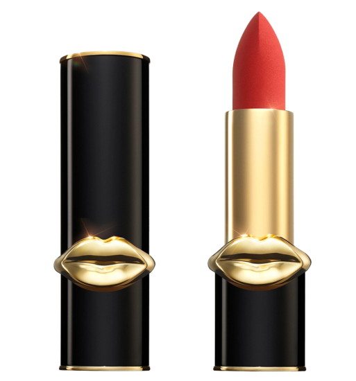 Red Lipstick Pat Mcgrath Labs Mattetrance Lipstick In Obsessed