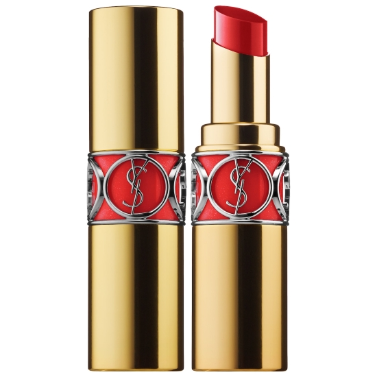 Reed Lipstick Yves Saint Laurent Rouge Volupte Shine In Rouge Tuxedo