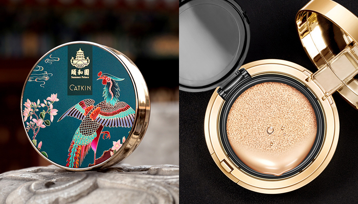 Catkin X Summer Palace Cushion Foundation