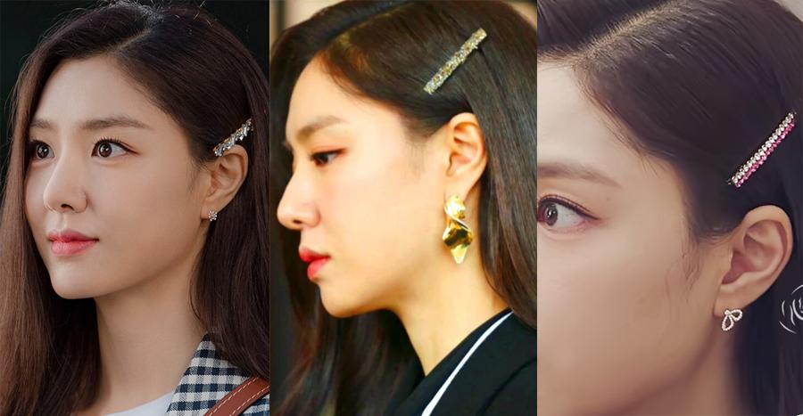 Crash Landing On You Seo Dan Hairstyle Hairclip Bling Hair Pins